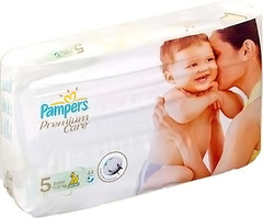 Фото Pampers Premium Care Junior 5 (44 шт)