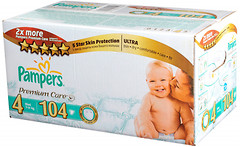 Pampers Premium Care Maxi 4 (104 шт)