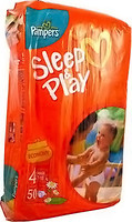 Фото Pampers Sleep&Play Maxi 4 (50 шт)