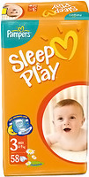 Фото Pampers Sleep&Play Midi 3 (58 шт)