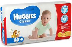 Фото Huggies Classic 4 (7-18 кг) 50 шт