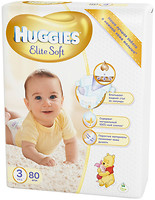 Фото Huggies Elite Soft 3 (80 шт)