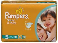 Фото Pampers Sleep&Play Junior 5 (42 шт)