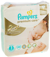 Pampers Premium Care Newborn 1 (88 шт)