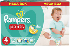 Pampers Pants Maxi 4 (104 шт)