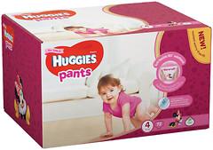 Huggies Pants 4 для девочек (72 шт)