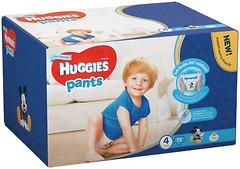 Фото Huggies Pants 4 для мальчиков (72 шт)