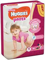 Huggies Pants 4 для девочек (52 шт)