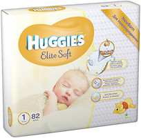Huggies Elite Soft 1 (82 шт)
