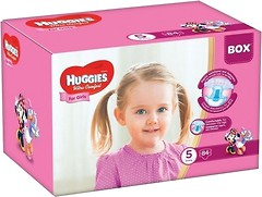 Фото Huggies Ultra Comfort 5 для девочек (84 шт)