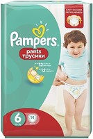 Фото Pampers Pants Extra Large 6 (14 шт)