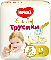 Фото Huggies Elite Soft Pants 5 (19 шт)