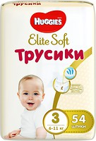Фото Huggies Elite Soft Pants 3 (54 шт)