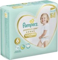 Фото Pampers Pants Premium Care Extra Large 6 (31 шт)
