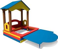 Фото Play Baby Домик с песочницей (PB-320TE)