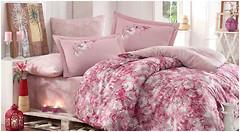 Фото Hobby Romina розовый двуспальный Евро