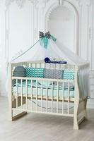 Фото Добрый Сон Baby line Eco 2 серо-мятный детский 7 эл