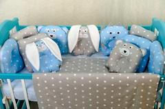 Фото Добрый Сон Лесные звери детский 6 эл синий