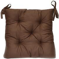 Прованс Темно-коричневая подушка на стул 40x40