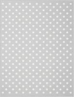 Фото Biederlack Lovely & Sweet Dots silver 75x100 (706607)