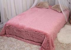 Фото Alltex Длинный Ворс 220x240 розовый (175006)