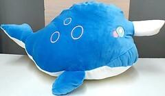 Фото Koloco Плед-игрушка Дельфин 110x150 синий