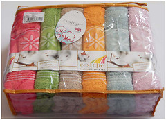 Cestepe Набор полотенец 6 шт. Vip Cotton 70x140 (vip-7)