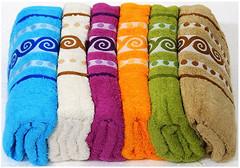 Cestepe Набор полотенец 6 шт. Vip Cotton 70x140 (vip-5)