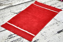 Фото English Home Winter Stripe 30x45 красное