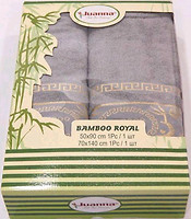 Фото Juanna Bamboo Royal 50x90, 70x140 серый