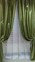 Arya Портьера Монарай зеленая 150x270 (8110 V-161)