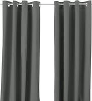Фото IKEA Мерете серая 145x300 (102.568.49)