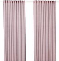 Фото IKEA Hilja розовая 145x300 (803.907.45)