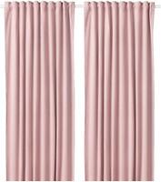 Фото IKEA Sanela розовая 140x300 (604.140.16)