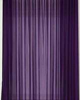Фото MacroHorizon Тюль Вуаль 300x290 фиолетовая (73027)