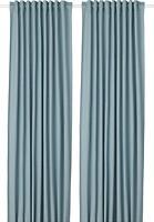 Фото IKEA Tibast синяя 145x300 (504.274.20)