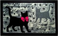 Фото IzziHome Italyan Format siyah kediler 0.4x0.68