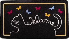 Фото IzziHome Italyan Kokardo cat welcome 0.4x0.7