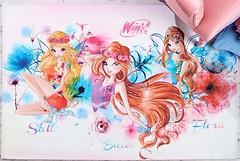 Фото TAC Disney Winx Watercolour 1.2x1.8