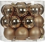 Фото House of Seasons набор шаров шампань 2.5 см, 24 шт.