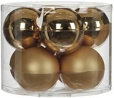 Фото House of Seasons набор шаров шампань 7 см, 8 шт.