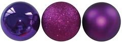 Фото Yes!Fun (Новогодько) набор шаров фиолетовый 6 см, 5 шт. (972237)