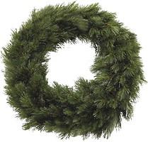 Фото TriumphTree Венок Forest frosted зеленый 60 см (8717669551980)