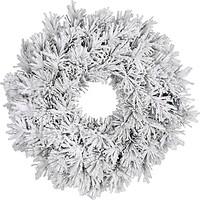 Фото Black Box Dinsmore Frosted Венок со снегом 60 см (8718861289039)