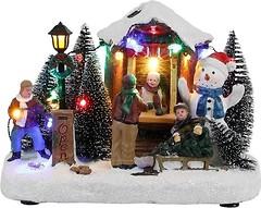 Фото House of Seasons Luville Collectables Елочная ярмарка, снеговик 21 см (8718861622430)