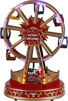 Фото House of Seasons Luville Collectables Новогодняя карусель, колесо 28 см (8718861622539)