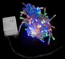 Фото DeLux String C 200 LED 10 м мультиколор/прозрачный IP20 (90009499)