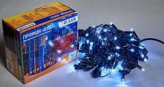 Фото Delux Icicle 108 LED 2x1 м черный/белый IP44 (90012940)