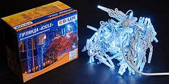 Фото Delux Icicle 108 LED 2x1 м белый/белый IP44 (90012939)