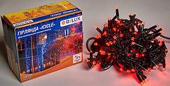Фото Delux Icicle 108 LED 2x1 м черный/красный IP44 (90012944)